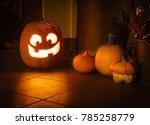 Halloween Pumpkin Lighting At...