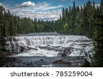 a view of dawson falls in wells ... | Shutterstock . vector #785259004