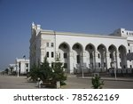 white marble building in... | Shutterstock . vector #785262169