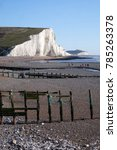 cuckmere haven  sussex beach ...   Shutterstock . vector #785263378