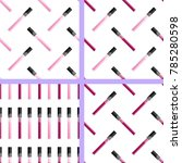 collection of seamless pattern... | Shutterstock .eps vector #785280598