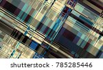 abstract digital fractal... | Shutterstock . vector #785285446