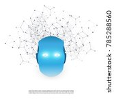 machine learning  artificial... | Shutterstock .eps vector #785288560