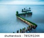 long exposure photography of... | Shutterstock . vector #785292244