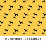 design patterns of cats and dogs | Shutterstock .eps vector #785338636