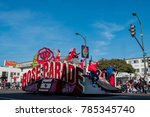 pasadena   jan 1  rose parade... | Shutterstock . vector #785345740