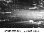 abstract tech background.... | Shutterstock . vector #785356318