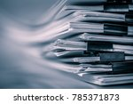 extreamely close up  report... | Shutterstock . vector #785371873