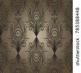 art deco style geometric...   Shutterstock .eps vector #785388448