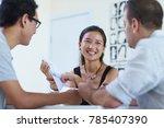 business people meeting in... | Shutterstock . vector #785407390