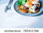 breakfast in morning | Shutterstock . vector #785411788