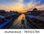 amphawa   january 1   amphawa... | Shutterstock . vector #785421784