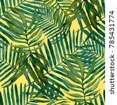 watercolor seamless pattern... | Shutterstock . vector #785431774