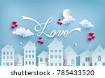 illustrations of love and... | Shutterstock .eps vector #785433520