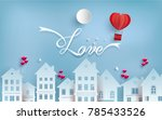 illustrations of love and... | Shutterstock .eps vector #785433526
