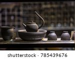 chinese various teapots | Shutterstock . vector #785439676
