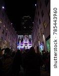 manhattan  new york  december... | Shutterstock . vector #785443960