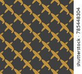 seamless pattern of aircraft...
