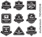 vintage retro vector logo for... | Shutterstock .eps vector #785450248
