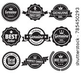 vintage retro vector logo for... | Shutterstock .eps vector #785450293