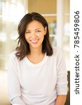 middle age asian woman. | Shutterstock . vector #785459806