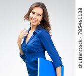 portrait of young happy smiling ... | Shutterstock . vector #785461138