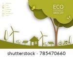 vector brochure flyer design... | Shutterstock .eps vector #785470660