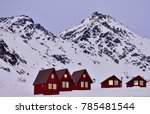 rental cabins in the 300 000... | Shutterstock . vector #785481544