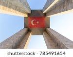 canakkale martyrs' memorial...   Shutterstock . vector #785491654