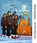 vector illustration of indian... | Shutterstock .eps vector #785492680