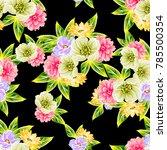 abstract elegance seamless... | Shutterstock .eps vector #785500354