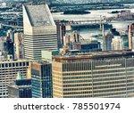 aerial view of midtown... | Shutterstock . vector #785501974