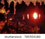 Easter Fire In Germany. The...