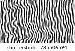 zebra print. vector... | Shutterstock .eps vector #785506594
