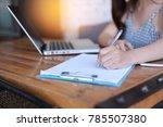 business woman professional... | Shutterstock . vector #785507380