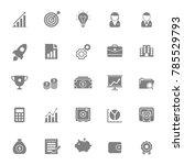 business icon vector | Shutterstock .eps vector #785529793