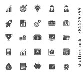 business icon vector | Shutterstock .eps vector #785529799