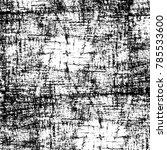 black white grunge pattern.... | Shutterstock . vector #785533600