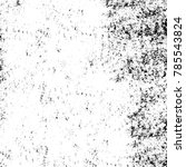 black white grunge pattern.... | Shutterstock . vector #785543824