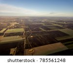 aerial photo of countryside.... | Shutterstock . vector #785561248