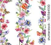 Wildflower Thistle Flower...
