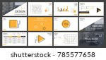 this template is the best as a... | Shutterstock .eps vector #785577658