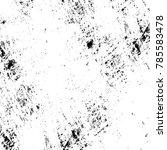 black white grunge pattern.... | Shutterstock . vector #785583478