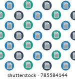 document icon vector background. | Shutterstock .eps vector #785584144