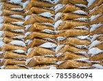 turkish style fruit dried pulp...   Shutterstock . vector #785586094