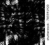 black white grunge pattern.... | Shutterstock . vector #785591920