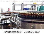 beer filling in a brewery  ... | Shutterstock . vector #785592160