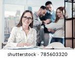 professional in action.... | Shutterstock . vector #785603320