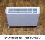 modern electric heater.... | Shutterstock . vector #785609590