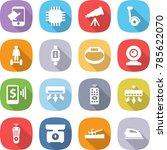 flat vector icon set   touch... | Shutterstock .eps vector #785622070